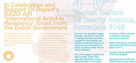 Rupert Porter Fundraiser