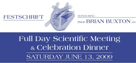 Festschrift Scientific Meeting & Celebration